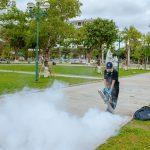 Phun Khói tiêu diệt Muỗi